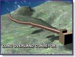 Long Overland Conveyor